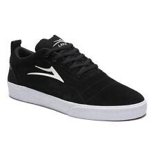 Lakai Skateboard Shoes Bristol Black/White Suede