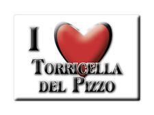 CALAMITA LOMBARDIA FRIDGE MAGNETE SOUVENIR I LOVE TORRICELLA DEL PIZZO (CR)