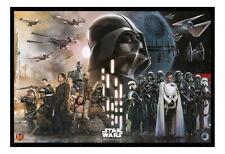 89554 Star Wars Rogue One Rebels Vs Empire Cork Pin Decor WALL PRINT POSTER CA