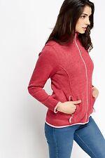 Ladies Athletic Structured Fleece warm fine fleece comfortabel Sweater jacket