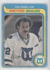 1979-80 O-Pee-Chee #342 Don Kozak Hartford Whalers Hockey Card