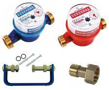 WASSERZÄHL: Kaltwasserzähler oder Warmwasserzähler oder Wasserzählerbügel