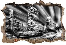Los Angeles Matrix 3D-Look Durchbruch Wandtattoo Aufkleber-Sticker