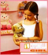 *ATHELIERCORTEZ* COTONELLA GIRL BAMBINA PURO COTONE MAKO' CANOTTA ROSA 6ANN-50%