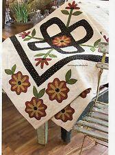 Folk Art Foursome Quilt Pattern Pieced/Applique DW