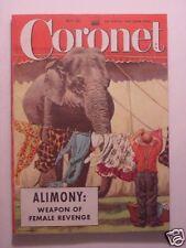 CORONET May 1952 MARLENE DIETRICH GUSTAV REHBERGER SAM LEVENSON ELBERT HUBBARD +