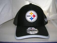 PITTSBURGH STEELERS 39THIRTY ONFIELD BLACK TRAINING CAMP FLEXFIT HAT CAP NEW ERA