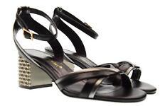 Bruno Premi scarpe donna sandali con tacco R1000P NERO P18