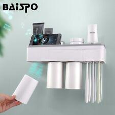 BAISPO porte-brosse à dents d'adsorption magnétique tasse inversée montage
