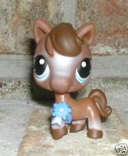 Littlest Pet Shop CHOCOLATE Pony horse #337 htf