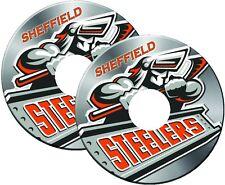 Sedia a rotelle ha parlato Guard ADESIVI Sheffield Steelers Custom Design