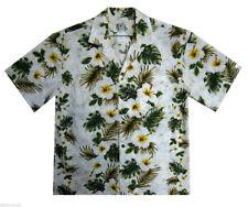 KY's Original Camicia Hawaiana 3 Colori Bianco