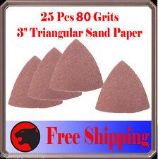 Pack 25 Sandpaper Oscillating Multi Tool Fein 80 Grit Makita Craftsman Performax