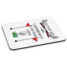 How Para Jugar Golf Pc Ordenador Alfombrilla de Ratón Pad - Divertido padre del