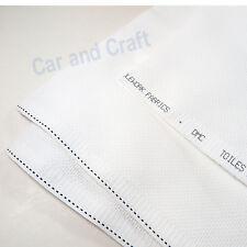 DMC 14 Count White Blanc Aida Cloth Cross Stitch Needlework Fabric Embroidery