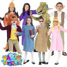 Kids Roald Dahl Fancy Dress Costume Girls Matilda Mr Fox BFG Boys Book Week Day