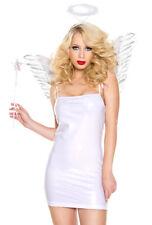 Music legs white angel wing costume starter kit
