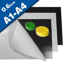 Hoja de hierro A4 / A3 marrón adhesivo formato A1 - A4,  0,6mm