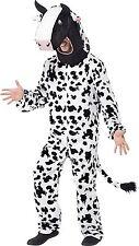 Costume Carnevale Mascotte Mucca Travestimento Animali PS 20059
