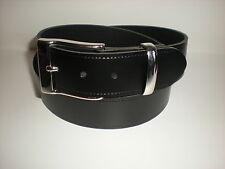Inglés cinturones de piel negro, marrón, verde, azul marino, burdeos y Blanco S