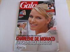 GALA N°943 6 JUILLET 2011 CHARLENE DE MONACO ALBUM PHOTO DU MARIAGE COLLECTOR