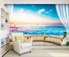 Ocean Sea Beach 710 Wallpaper Mural Wall Print Murals Us Lemon