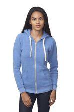 Women's Eco Organic Triblend Fleece Full Zip Hoody 37050
