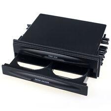 Universal Car auto Double Din Radio Pocket Drink Cup Holder+Storage Box Tide