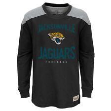 "Jacksonville Jaguars NFL Youth Black ""Legend"" Long Sleeve Crew T-Shirt"