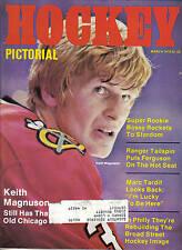 1978 (Mar.) Hockey Pictorial, magazine, Keith Magnuson, Chicago Blackhawks ML