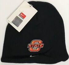 NCAA Nike Oklahoma State University Black Beanie Winter Hat OSU Logo Cap