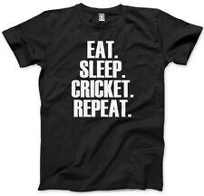 Eat Sleep Cricket Repeat T Shirt Player Club Gift All Colours Tee Kids T-Shirt