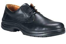 Aimont Ladies Perla Black Leather Safety Shoes Steel Toe S2 SRC UK 3 4 6, J3M