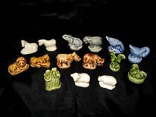 Wade el Arca De Noé whimsies animales Pato, Rhino, Cebra, Elefante, pollo, ovejas, León