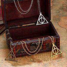Harry Potter Deathly Hallows Pendant Necklace - USA SELLER (CALIFORNIA)