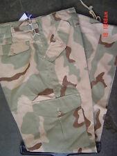 Camuffati Combat Esercito Cargo Pantaloni Taglia 38 Deserto