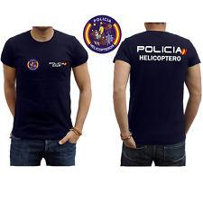 Camiseta Policía Helicoptero
