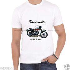 Bonneville 1959 T 120, classic vintage biker enthusiast T Shirt