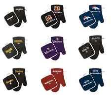 NFL Oven Mitt Pot Holder Set - Pick Your Team