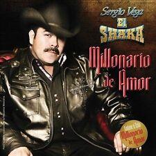 FREE US SHIP. on ANY 3+ CDs! ~Used,VeryGood CD Sergio Vega: Millonario De Amor