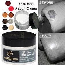 Patch Car Seat Sofa Renew Leather Repair Cream Color Paste Dye Colour Restorer