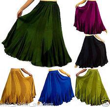 pick color &size maxi sexy ruffled skirt boho M L XL 1X 2X 3X 4X 5X 6X BEAUTIFUL