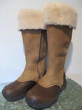 UGG Australia Miko tall women's beige/ brown waterproof New boots 7, 8