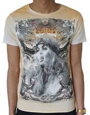 Pearly King Men's SISTINE T-Shirt Off White (PKTS064)