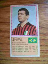 FIGURINE CALCIATORI PANINI 1970/71 BRASIL DEL VECCHIO A