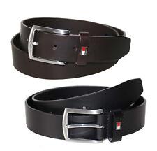 TOMMY HILFIGER New Denton Belt Giftbox 3,5 cm Leder Gürtel Ledergürtel