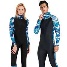 9f1757ad3fe Men Women Lycra Dive Skin One Piece Swimsuit Hooded Jumpsuit Full Body  Bodysuit