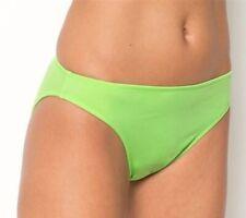 RESORT Bikini Bottoms Lime Green Hipster Lycra Swimwear DT880