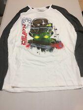NWT Disney Store Star Wars Mens Shirt long sleeve Death Trooper M,L,XL,2XL