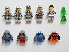 Lego Power Miners Figur Rock Monster Marsmission Alien Flugzeugrumpf Weltraum M3